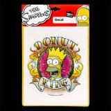 "Наклейка ""DONUT KING"" 18х23см THE SIMPSONS"