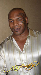 Christian Audigier & Mike Tyson